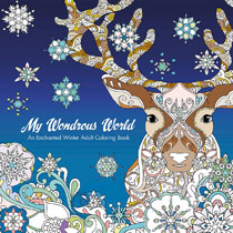 Image: My Wondrous World: Enchanted Winter Adult Coloring Book SC  - IDW Publishing