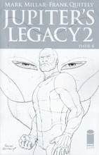 Image: Jupiter's Legacy Vol. 2 #4 (incentive cover - Quitely Sketch) (25-copy) - Image Comics