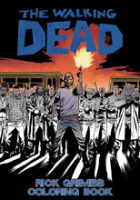 Image: Walking Dead Rick Grimes Coloring Book SC  - Image Comics