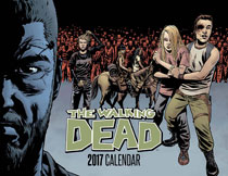 Image: Walking Dead Comic Book 2017 Calendar  - Image Comics