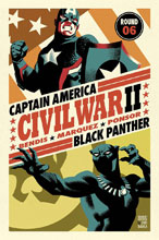 Image: Civil War II #6 by Michael Cho Poster  - Marvel Comics