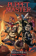 Image: Puppet Master Vol. 04: Blood Debt SC  - Action Lab - Danger Zone