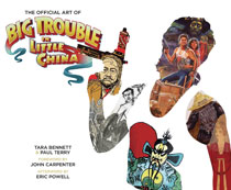 Image: Offical Art of Big Trouble in Little China HC  - Boom! Studios
