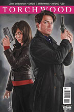 Image: Torchwood #3 (cover A - Myers)  [2016] - Titan Comics
