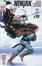 Image: Ninjak #19 (cover D incentive - Laming) (20-copy) - Valiant Entertainment LLC