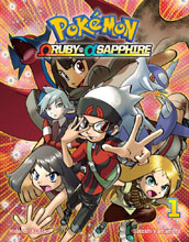 Image: Pokemon Omega Ruby - Alpha Sapphire Vol. 01 SC  - Viz Media LLC