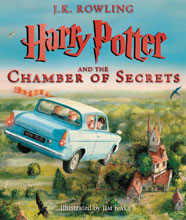 Image: Harry Potter and the Chamber of Secrets Illustrated Edition HC  - Scholastic Inc.