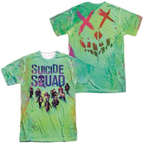 Image: Suicide Squad T-Shirt: Poster [Sublimated]  (XXL) - Trevco Sportswear