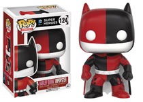 Image: Pop! Heroes Vinyl Figure 124: DC Comics Super Heroes - Batman as Harley Quinn Impopster  - Funko