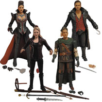 Image: Once Upon a Time Action Figure: Hook  - Icon Heroes