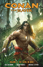 Image: Conan the Slayer Vol. 02: The Devil in Iron SC  - Dark Horse Comics