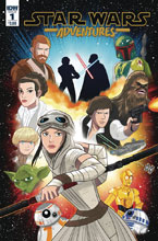 Image: Star Wars Adventures #1 (cover A - Charm)  [2017] - IDW Publishing