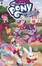 Image: My Little Pony: Legends of Magic #6 (incentive cover - Abigail Starling) (10-copy)  [2017] - IDW Publishing