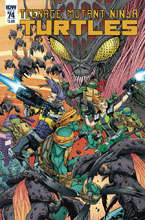 Image: Teenage Mutant Ninja Turtles #74 (cover A - Smith) - IDW Publishing