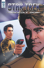 Image: Star Trek: Boldly Go #12 (cover B - Shasteen) - IDW Publishing