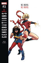 Image: Generations: Ms. Marvel & Ms. Marvel #1 (Coipel variant cover)  [2017] - Marvel Comics