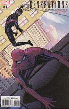 Image: Generations: Miles Morales Spider-Man & Peter Parker Spider-Man #1 (Sprouse variant cover)  [2017] - Marvel Comics