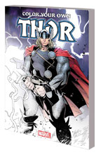 Image: Color Your Own Thor SC  - Marvel Comics