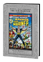 Image: Marvel Masterworks: The Sub-Mariner Vol. 08 HC  - Marvel Comics