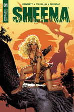 Image: Sheena Queen of the Jungle #1 (cover B - Sook) - Dynamite
