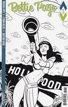 Image: Bettie Page #3 (Chantler b&w incentive cover - 03041) (10-copy)  [2017] - Dynamite
