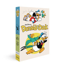 Image: Walt Disney's Donald Duck Box Set: The Pixilated Parrot & Terror of the Beagle Boys HC  - Fantagraphics Books