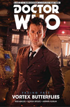 Image: Doctor Who: The 10th Doctor Facing Fate Vol. 02: Vortex Butterflies HC  - Titan Comics