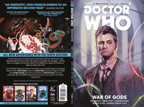 Image: Doctor Who: The Tenth Doctor Vol. 07: War of Gods SC  - Titan Comics