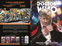 Image: Doctor Who: The Third Doctor Vol. 01: Heralds of Destruction SC  - Titan Comics