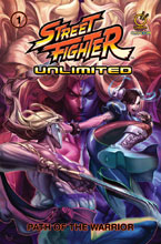 Image: Street Fighter Unlimited Vol. 01: Path of the Warrior SC  - Udon Entertainment Inc