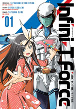 Image: Infini-T Force: Arc to the Future Vol. 01 SC  - Udon Entertainment Inc