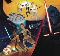 Image: Star Wars: Tales of the Force Big Golden Book HC  - Random House Books For Young R