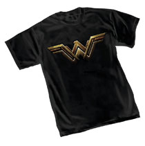 Image: Wonder Woman T-Shirt: Fade Symbol  (XL) - Graphitti Designs