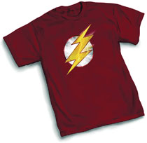Image: Flashpoint Flash Symbol T-Shirt  (S) - Graphitti Designs