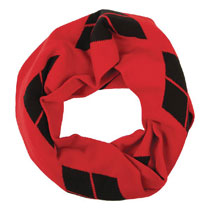 Image: DC Harley Quinn Knit Infinity Scarf  - Bioworld Merchandising