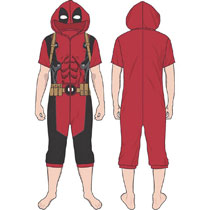 Image: Marvel Deadpool Cropped Union Suit 6-Piece Assortment  - Bioworld Merchandising