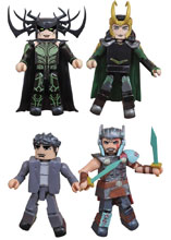 Image: Marvel Minimates: Thor Ragnarok   - Diamond Select Toys LLC