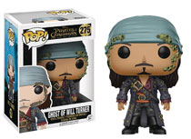 Image: Pop! Pirates of the Caribbean 5 Vinyl Figure: Ghost of Will Turner  - Funko