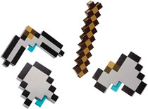 Image: Minecraft Multi-Tool Pack Case  - Mattel Toys