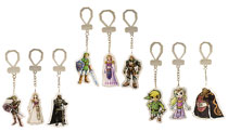 Image: Nintendo Legend of Zelda 2D Laser Cut Keychain 24-Piece Blind Mystery Box Display  - Ucc Distributing