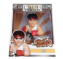 Image: Metals Street Fighter Die-Cast Figure: Ryu  (4-inch) - Jada Toys, Inc