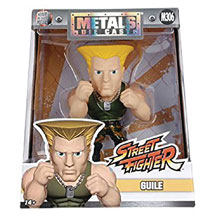 Image: Metals Street Fighter Die-Cast Figure: Guile  (4-inch) - Jada Toys, Inc