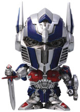 Image: Transformers Last Knight PVC Figure: Optimus Prime  (4-inch) - Hero Cross Co. Ltd