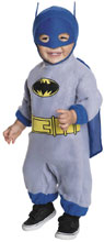 Image: DC Heroes Batman Kids Costume - Infant  - Rubies Costumes Company Inc