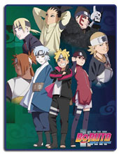 Image: Boruto Movie Child Group Sublimation Throw Blanket  - Great Eastern Entertainment
