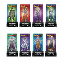 Image: Figpin Dragonball Z Enamel Figure Pin 9-Piece Assortment Wave 1  - Cmd Collectibles
