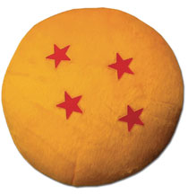 Image: Dragonball Z Plush: Four Star Dragon Ball  (4-inch) - Great Eastern Entertainment