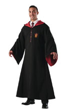 Image: Harry Potter Deluxe Replica Adult Robe: Gryffindor  - Rubies Costumes Company Inc