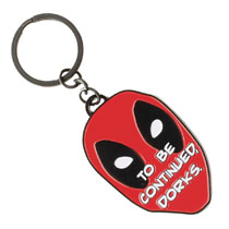 Image: Marvel Keychain: Deadpool Dorks  - Bioworld Merchandising