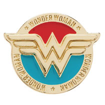 Image: DC Comics Lapel Pin: Wonder Woman  - Bioworld Merchandising
